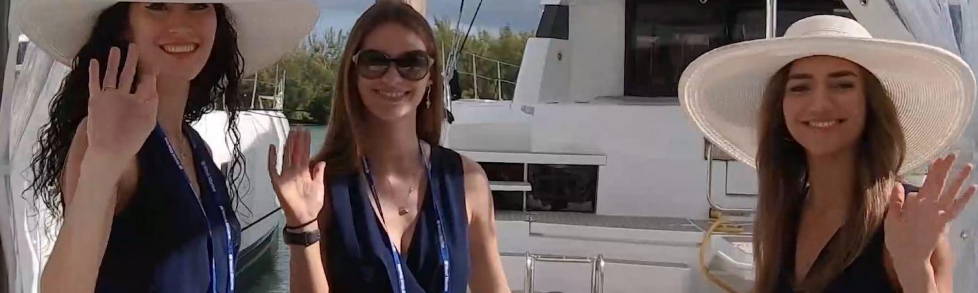 Boat Show hostesses