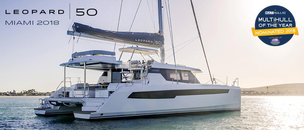 Leopard 50 Catamaran